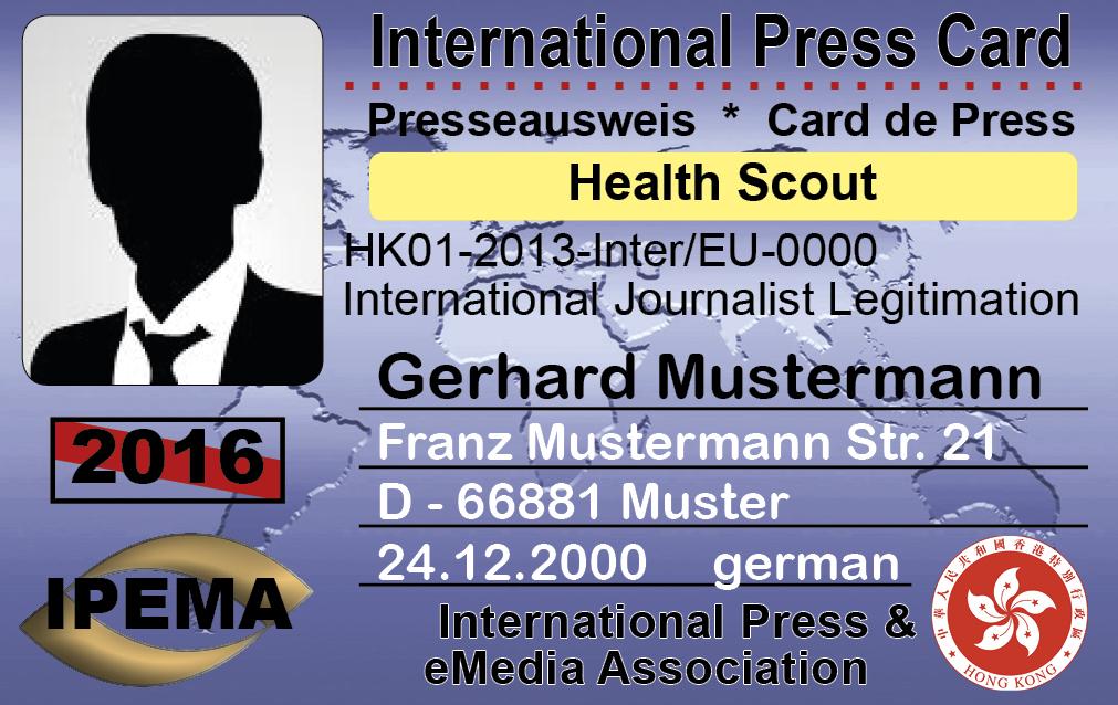 Press card look 5