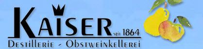 Kaiser Destillerie-Obstweinkellerei