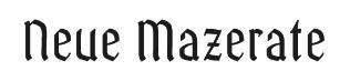 Neue Mazerate GmbH