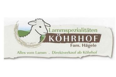 Lammspecialitäten Köhrhof