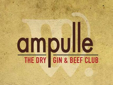 Ampulle – Dry Gin and Beef Club