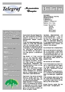 Telegraf Bulletin 3
