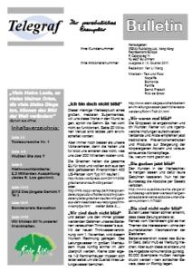 Telegraf Bulletin 4