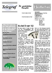 Telegraf Bulletin 5