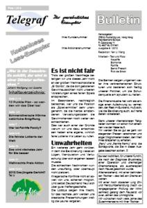 Telegraf Bulletin 6