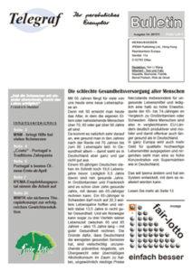 Telegraf Bulletin 14 + Beilage